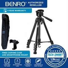 Benro T600Ex Portable Aluminum Alloy Tripod + 3-Way Pan Head