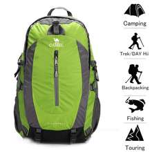 Camel outdoor 50L mountaineering bag Travel light shoulder bag cycling running sports backpack men and women school bag