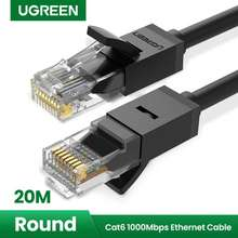 Ugreen 20M/30M Ethernet Cable Cat6 Lan Cable Utp Cat 6 Rj 45 Network Cable