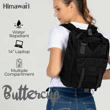 Himawari Buttercup Backpack (Hm188L-34) - Blackout