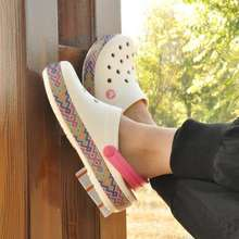 Crocs Women Color Square36-40 Bayaband Clog With Eco Bag Oem #Cod