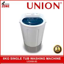 Union Washing Machine 8KG Single Tub / Washing Machine UGWM-80