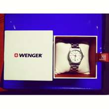 wenger Women Stainless Watch (silver)