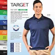 Target Drifit Polo Shirt with Collar