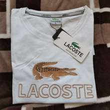 Lacoste Branded Ladies Shirt (White)