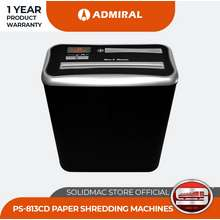 Admiral Ps-813Cd Cross Cut Paper Shredder