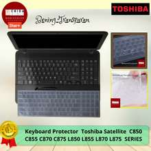 Toshiba Keyboard Protector / Garskin Laptop / Laptop Keyboard Protector / Tecra C850 Protector -@ 15010 (15,6 Inch)