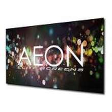 """Elite Screens """" AEON CLR Series 90"""""""" Diag 16:9 Edge Free Fixed Frame Ambient Light Rejecting Projection Screen AR90H-CLR"""""""