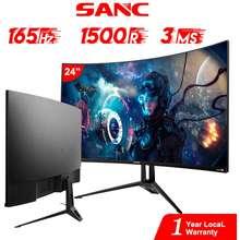 Gamdias Inplay 24 Inch 144Hz Gaming Monitor 1Ms Gtg Pc Computer Monitor With Amd Freesync Gt24N10