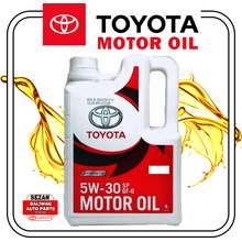 Toyota ORIGINAL TOYOTA FULLY SYNTHETIC OIL 5W-30 SP GF-6 GASOLINE ENGINE 4 LITERS PART NO. 08880-84132