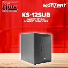 "Konzert Original Ks-12Sub Powered / Active Subwoofer 12"" 300W"