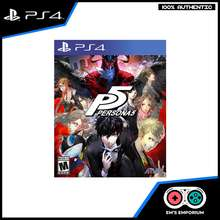 Atlus Ps4 Games Persona 5 Standard