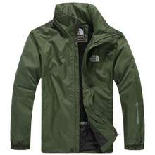 The North Face (Embroidery) High Quality Outdoor Jacket Men'S Windproof And Waterproof Men'S Casual Sports Windbreaker