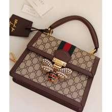 Gucci Original Grade Quality Queen Margaret_Top Handle Bag