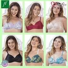 Natasha Plus Size Non-Wire Soft Cup Bra Hydra/ Consuelo/ Gullermina/ Chopra/ Laramie/ Azzidin
