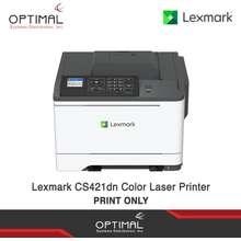 Lexmark Cs421Dn Color Laser Printer - Print Only
