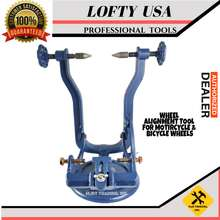 Flyman USA LOFTY POWER USA WHEEL ALIGNMENT TOOL FOR MOTORCYCLE & BICYCLE WHEELS