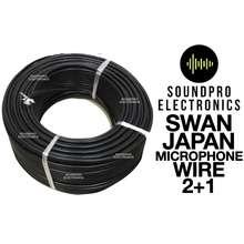 SWAN Original Japan Microphone Wire 2+1 (7.2Mm X 100 Meters) Original
