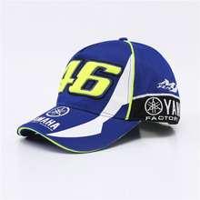 Yamaha Men Women Baseball Cap Embroidery 46 Motorcycle Hat