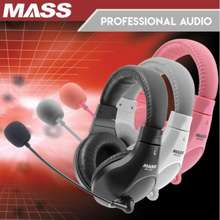 Mass Wired Headphones For Online Learning, Gaming And Streaming Mh550