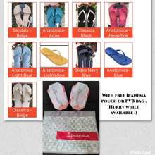Ipanema Original Lifestyle Anatomica / Classica Flip Flops Women Made In Brazil Bought In Malaysia