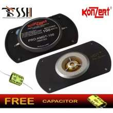 Konzert Rectangle Metal Dome (I-02) 100 watts Tweeter w/ Free Capacitor (Sold per pc)