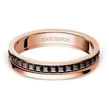 Boucheron 18Kt Rose Gold Quatre Classique Band Ring Pg