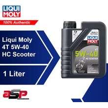 Liqui Moly 4T 5w40 Scooter Oil 1 Liter (FREE STICKER)