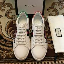 Gucci Ace Embroidered Low Top Sneakers Men Sneakers