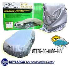 OTTER CAR COVER POLYESTER 170T SILVER SUV