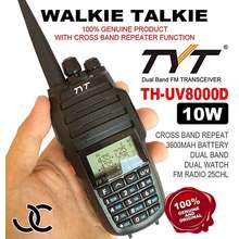 TYT Uv8000D 10 Watts With Cross Band Repeater Two Way Radio