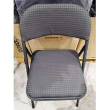 Cosco Fabric Folding Chair Gray Only