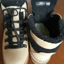 CHANEL Winter Boots Authentic