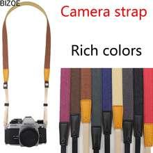 Canon Ready Stock Bizoe Camera Lanyard Shoulder Strap Camera Strap Micro-Single Hanging Neck Strap black 3cm