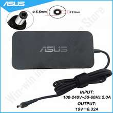 ASUS Slim 120W 19V 6.32A Laptop Charger for VivoBook Pro A15-120P1A ADP-120RH B ROG GL502VT GL502V GL502/GL502VT-DS71 Power Adapter
