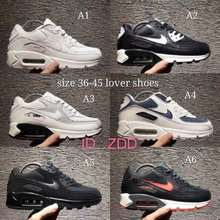 Nike Nike Air Max 90 Men And Women Running Shoes Classic Airmax Shoes Ready Stock