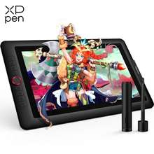XP-PEN XP-PEN Artist15.6 Pro 15.6 Inch Drawing Pen Display Graphics Monitor Full-Laminated Technology Drawing Monitor with Tilt Function and Red Dial (8192 Levels Pen Pressure 120% sRGB)