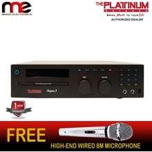 PLATINUM Karaoke The Platinum Reyna 3 Ver 1.5 Karaoke W/ High End Microphone