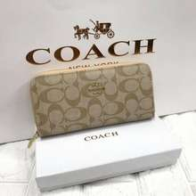 Kate Spade New York Gs•Coach Long Wallet With Box Classa Ladies Wallet