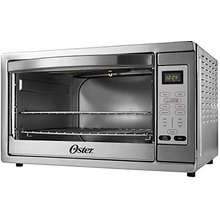 Oster Extra Large Digital Countertop Convection Oven Stainless Steel Tssttvdgxl Shp