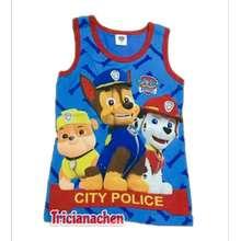 Paw Patrol Sale!Cartoon Character Printed Top Sando Sleeveless For Kidswear Boy#Tricianachen
