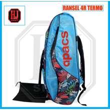 Apacs Badminton Racket Bag Backpack 4R Thermostat