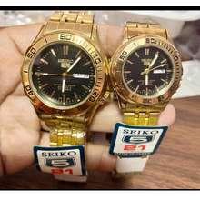 Seiko 5 Couple Watch Automatic Hand Movement 2Pcs
