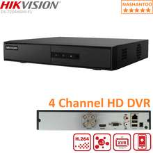 HIKVISION DS-7204HGHI-F1 4CH 1080p Lite H.264 Turbo HD DVR 1 SATA Interface Audio over Coaxial Cable CCTV Camera Digital Video Recorder can Support Audio NASHANTOO (HDD is not included)
